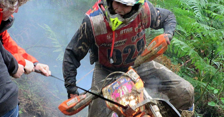Slingfast Ne Bergegurt Enduro Motorrad Empfohlene Farbe Für Ktm Exc Hurqvarna Sherco Yamaha Schwarz Auto