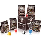 Caffè Carracci Kit Cialde Compatibili Nespresso Assortite - 60 Capsule