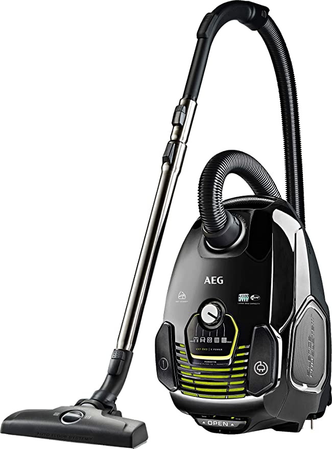 AEG VX7-2-ECO Aspirador Trineo, gama ecológica, A+BAA, 650 W, 69 dB, múltiples cepillos