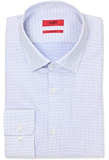 b35ffb8a Hugo Boss Hugo Mens Hugo Men's Sharp Fit Dress Shirt with Modified Point  Collar Button Down
