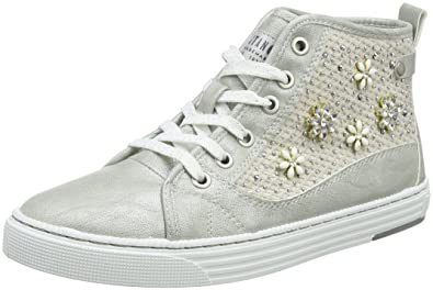 Womens 1246-504-203 Hi-Top Trainers Mustang