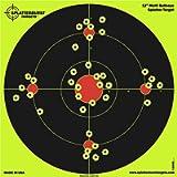 Splatterburst Targets t 12 inch Multi-Bullseye Shooting Target - Shots Burst Bright Fluorescent Yellow Upon Impact - Gun…