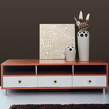 Purple pour commode armoires /à tiroirs Lot de 10 boutons de meuble vintage Psmgoods/® en c/éramique de style europ/éen et en forme de citrouille armoires de cuisine