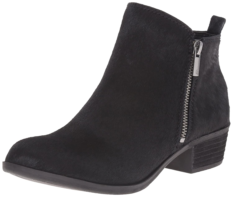 Black 01 Lucky Brand Women's Basel Ankle Boot