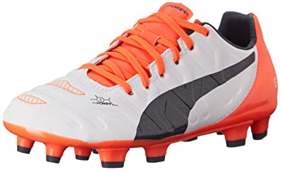 a0de61b4b980 PUMA Evopower 3.2 Firm Ground JR Soccer Shoe (Infant Toddler Little Kid