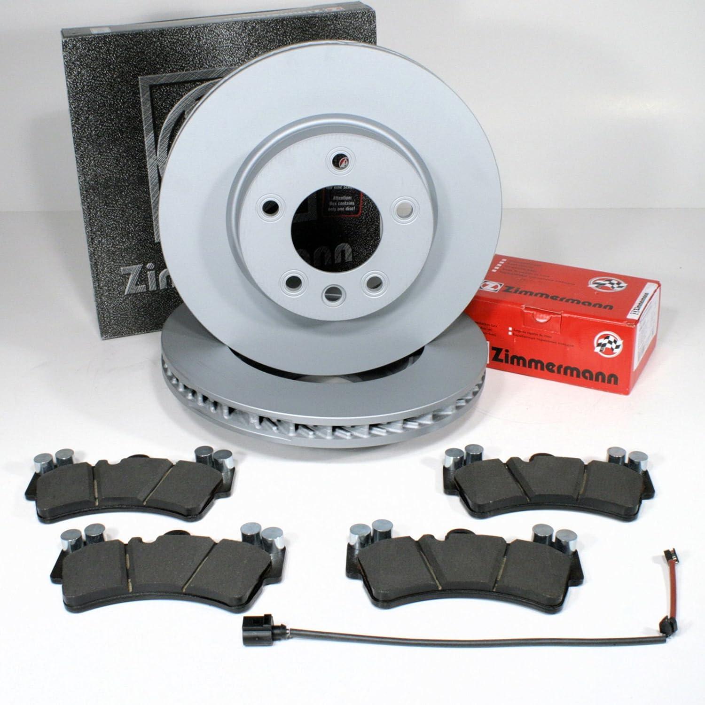 Audi Q7 Bremsscheiben Bremsen Bremsbeläge Warnkabel für vorne