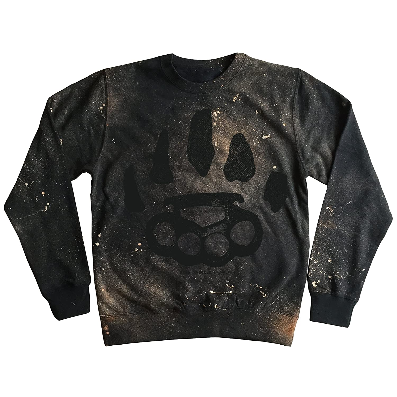 Noir - Noir L Bear Knuckle Brawlers - Sweat-Shirt - Homme