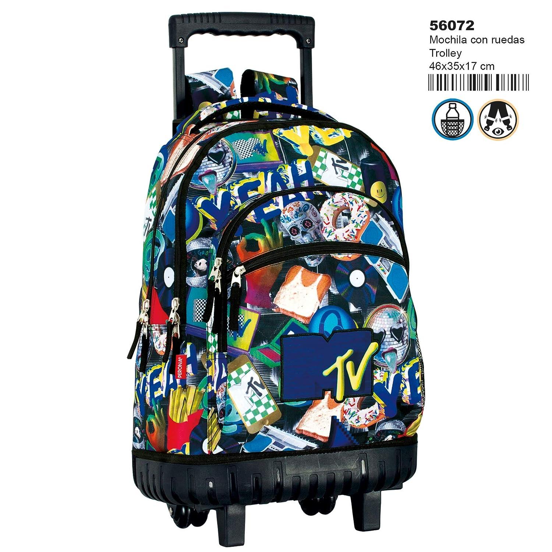 Amazon.com | Montichelvo Trolley Mtv Random Travel Tote, 46 cm ...