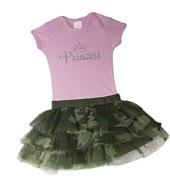 Baby Girl Camo Clothes Stunning Amazon Baby Boutique Baby Girls Camo Tutu Skirt And Princess