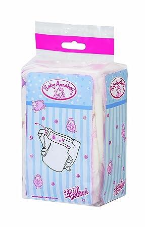 Zapf Creation 760246 - Pañales para Baby Annabell (5 unidades)