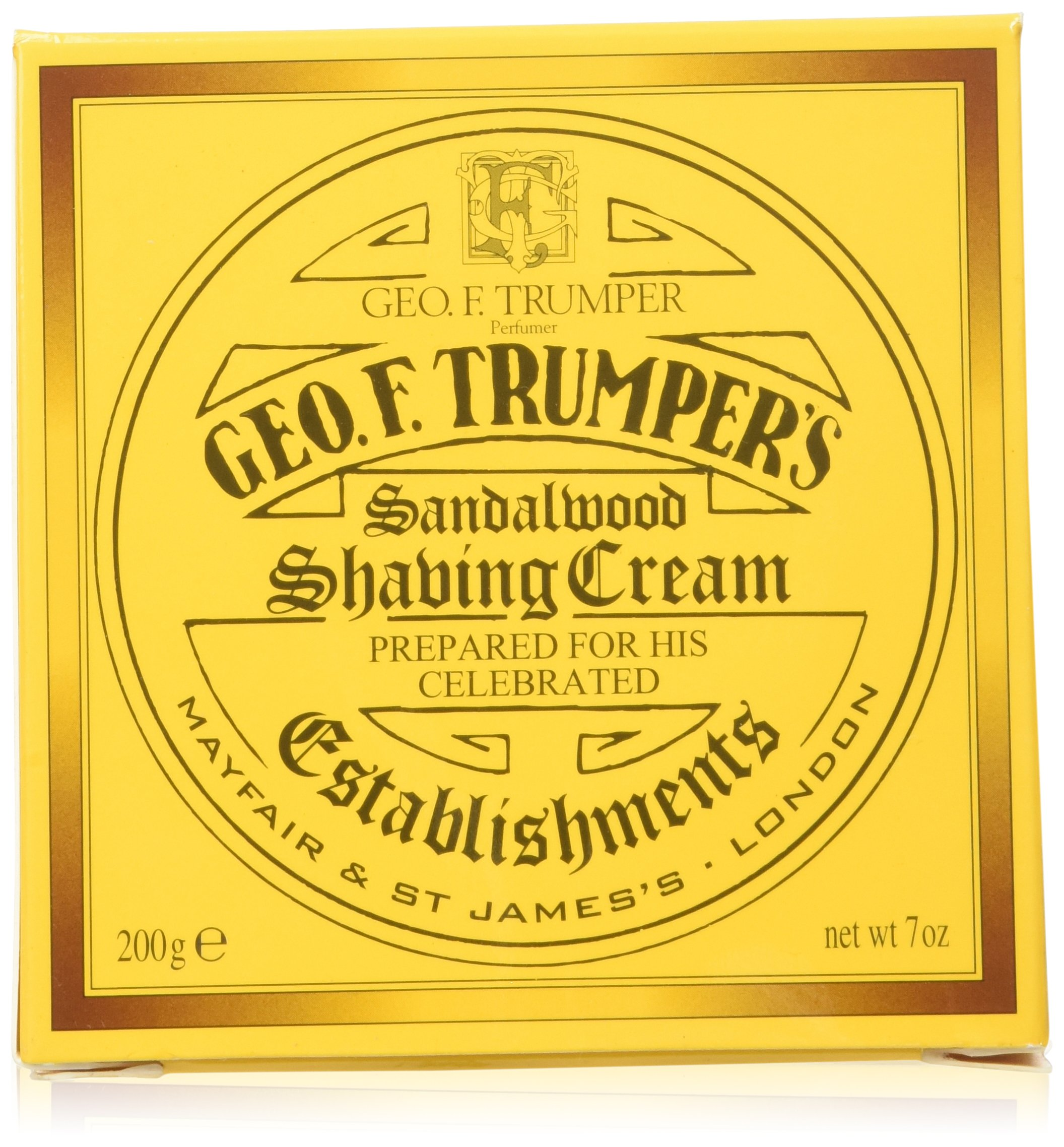 Geo F. Trumper Sandalwood Soft Shaving Cream Jar