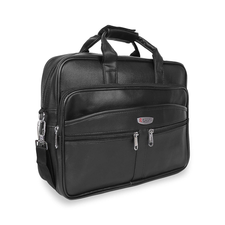 Trajectory Premium Black Messenger Bag With Superior Padding