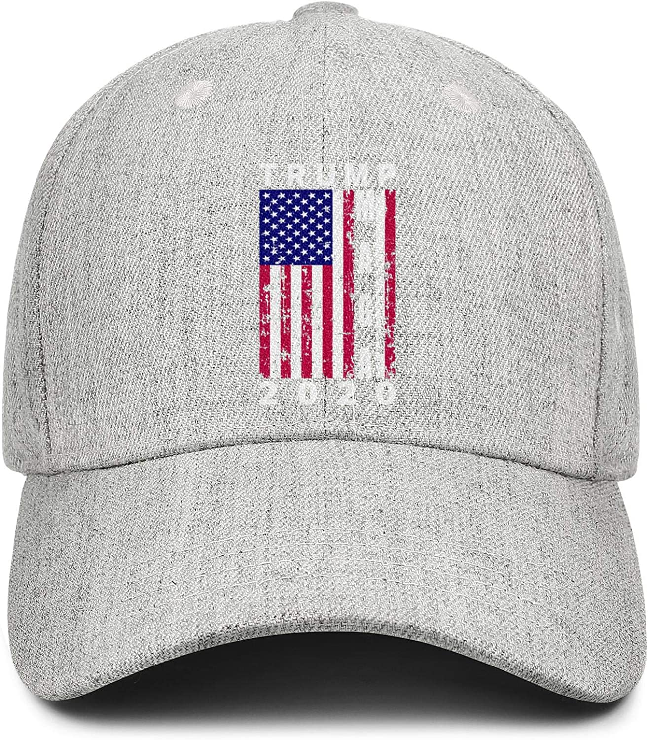 Tired Being Happy Unisex Washed Twill Baseball Cap Adjustable Peaked Sandwich Hat