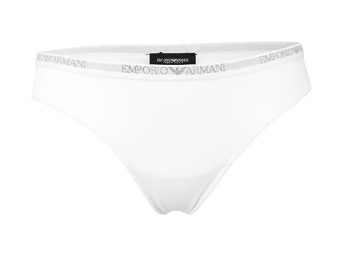 Emporio Armani - Tangas - para Mujer 00010 White Small