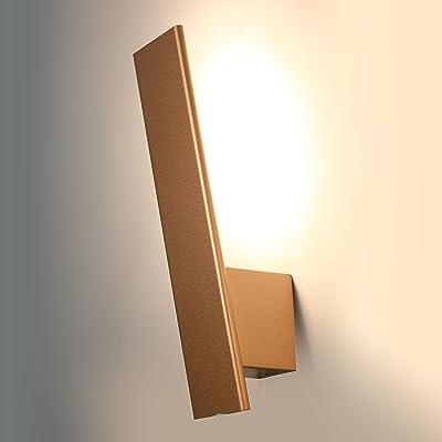 Glighone Applique Murale Spot Led 9w Intérieur Moderne Carré Cube Up