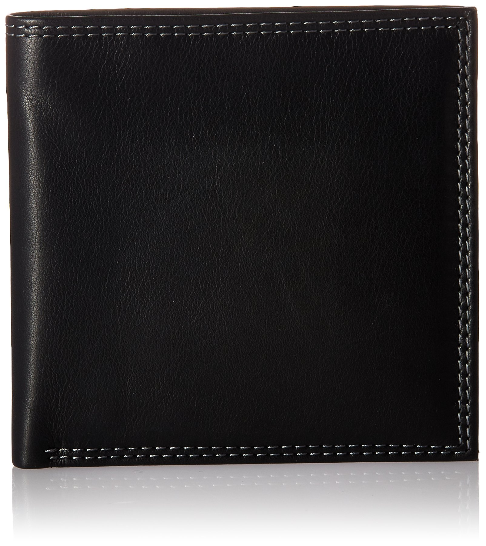 Style n Craft 300798-BL Black Bi-Fold hipster Wallet
