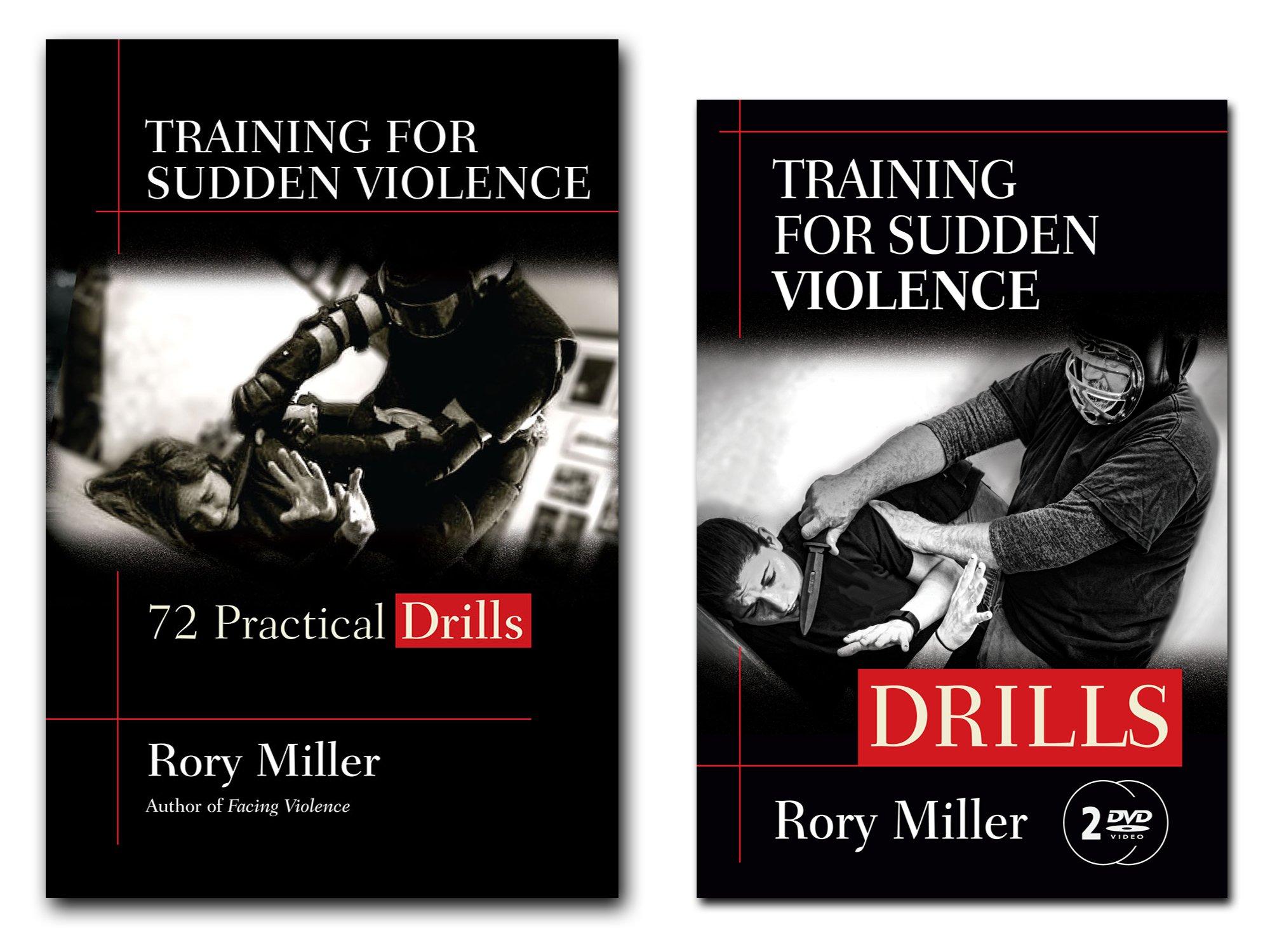 Download Bundle: Rory Miller's Training for Sudden Violence: DRILLS book and 2-DVD set pdf epub