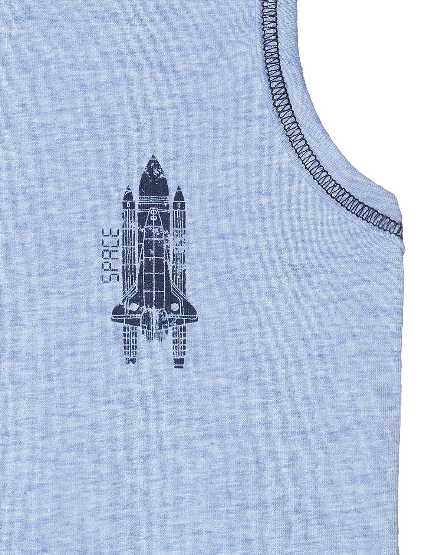 Sanetta Boys Shirt W//O Sleeves W.Print Vest