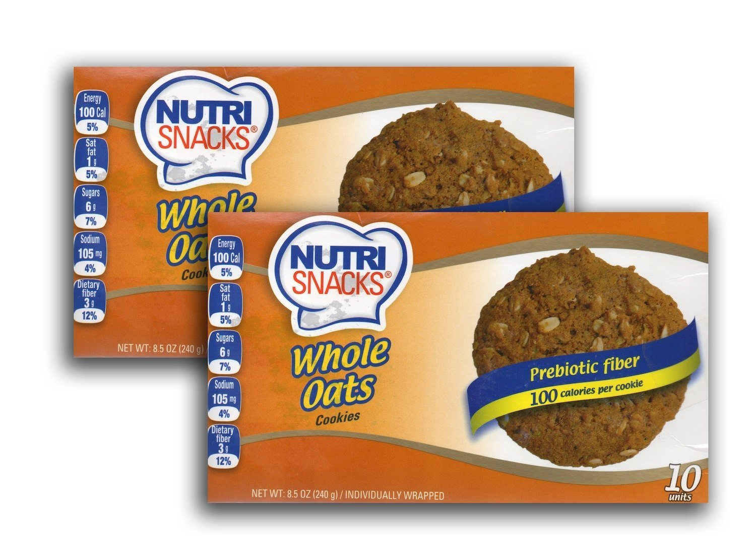 Amazon.com : Nutri Snacks Whole Oats Cookies - 2 Pack : Grocery & Gourmet Food