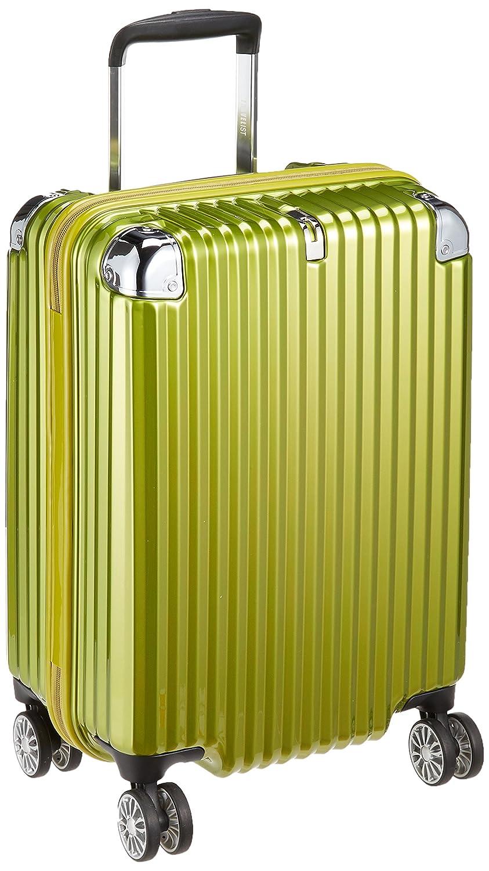 [トラベリスト] スーツケース ジッパー ストリークII 機内持ち込み可 大容量 76-20210 38.5L 53.5 cm 2.9kg B075D59RCP ライムヘアライン