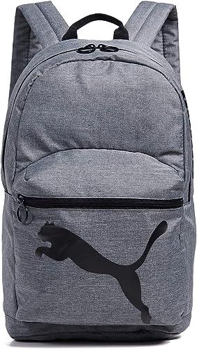 PUMA Women s Essential Backpack, Heather Grey Black, One Size