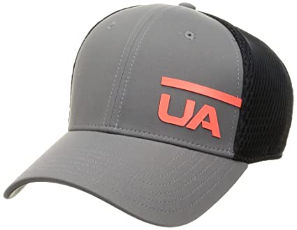 Under Armour Mens Train Spacer Mesh Cap Gorra, Hombre, Gris (040),