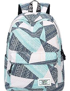 3916490bb3595 Amazon.com  Colorful Cartoon Unicorn Print Backpack Women Drawstring ...