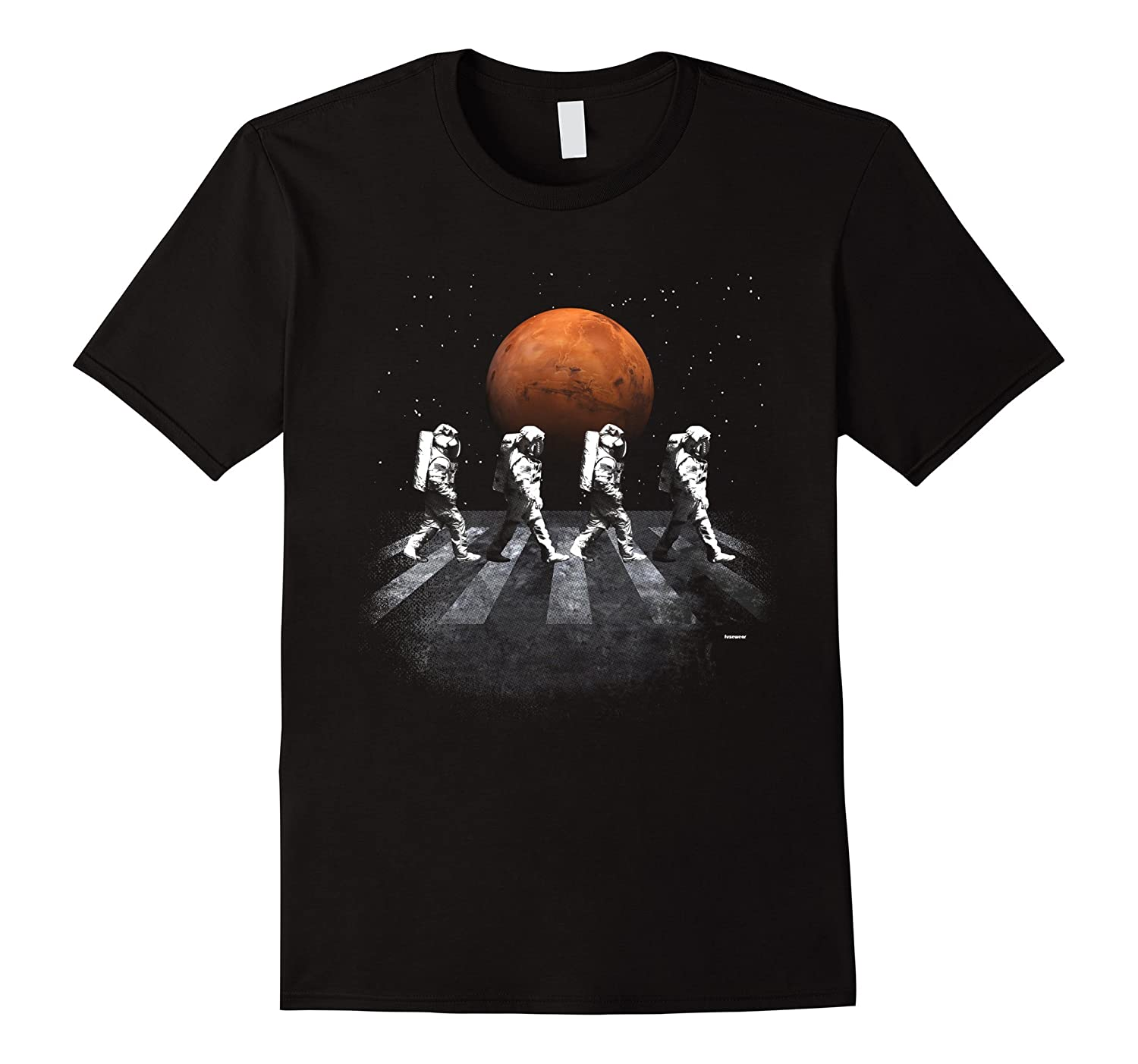 Astronauts in Walking in Space Occupy Mars T-Shirt-Vaci