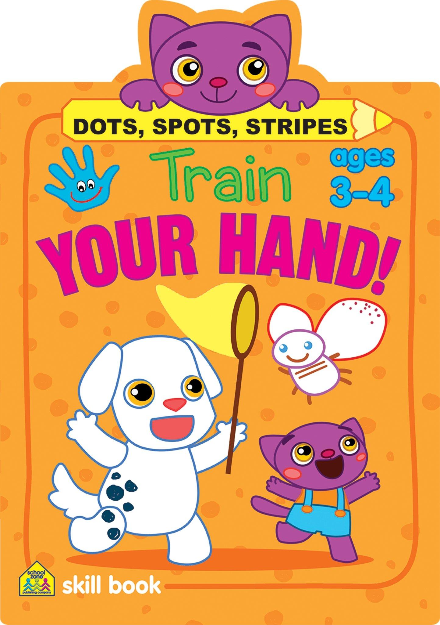 Train Your Hand - Dots, Spots, Stripes pdf epub