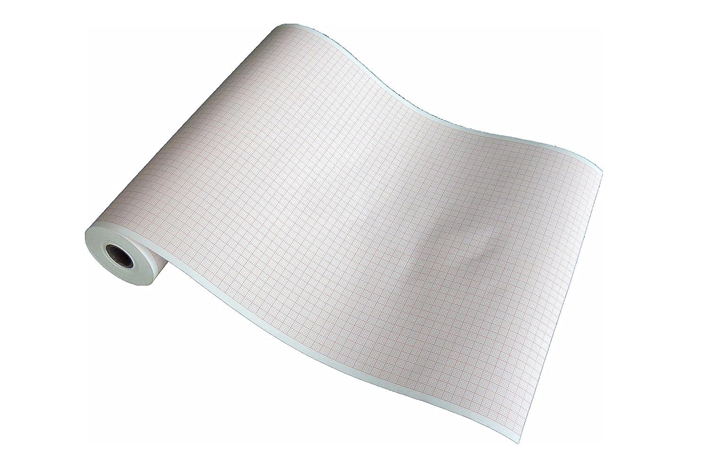 Rouleaux de papier thermique pour ECG compatibles avec Bionet Cardiocare (215mm x 25m) La Tecnocarta Srl RI3721502515E