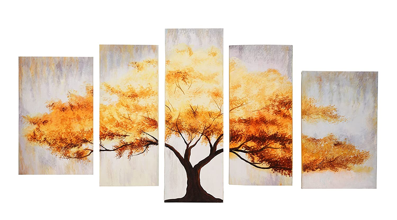 Amazon.com: 999Store multiple frames handmade large golden tree ...