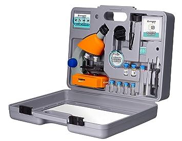 Bresser junior 40x 640x mikroskop mit zubehör und: amazon.de: kamera