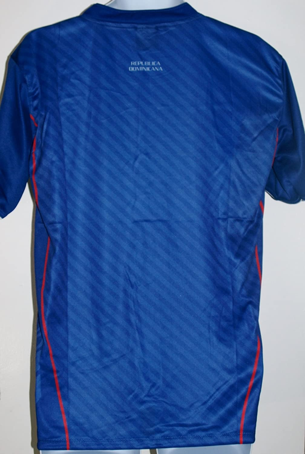 Amazon.com : DOMINICAN REPUBLIC SOCCER JERSEY T-SHIRT BLUE M MEDIUM FOOTBALL FIFA CAMISETA REMERA FÚTBOL REPÚBLICA DOMINICANA : Sports & Outdoors