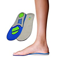 Children's Athletic Gel Insoles for Cushion and Comfort for Active Children ((24...