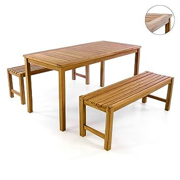 Amazon.de: Divero Garten- & Picknick-Set Sitzgruppe | Gartenmöbel ...