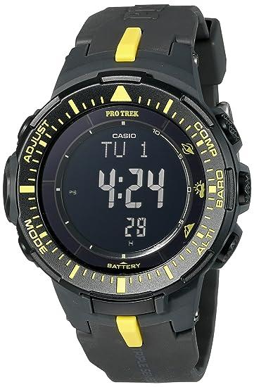 08e55fc363e6 Casio prg-300–1a9cr Pro Trek Reloj Solar con visualización digital de  cuarzo