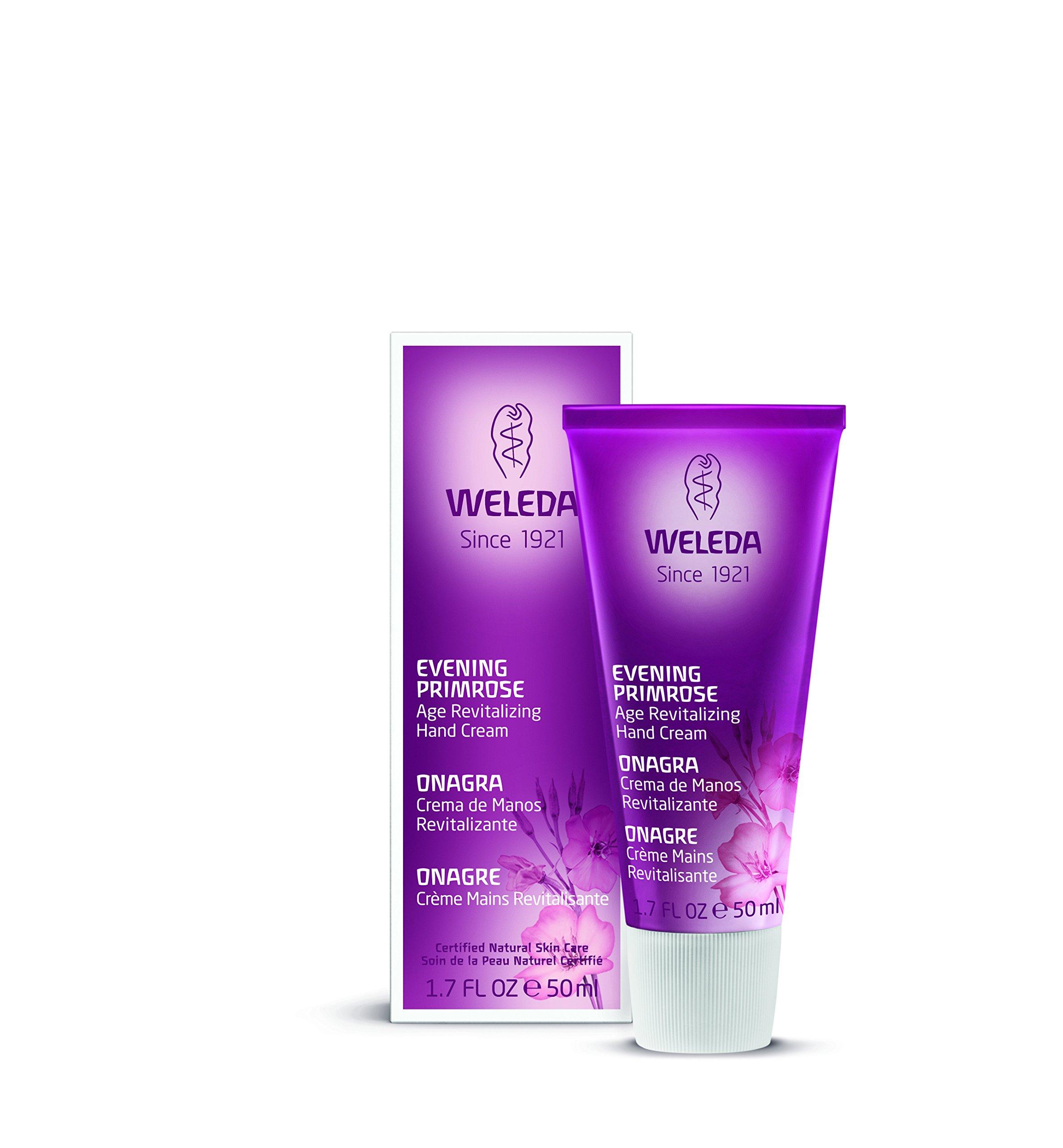 Weleda Evening Primrose Age Revitalizing Hand Cream, 1.7 Fluid Ounce