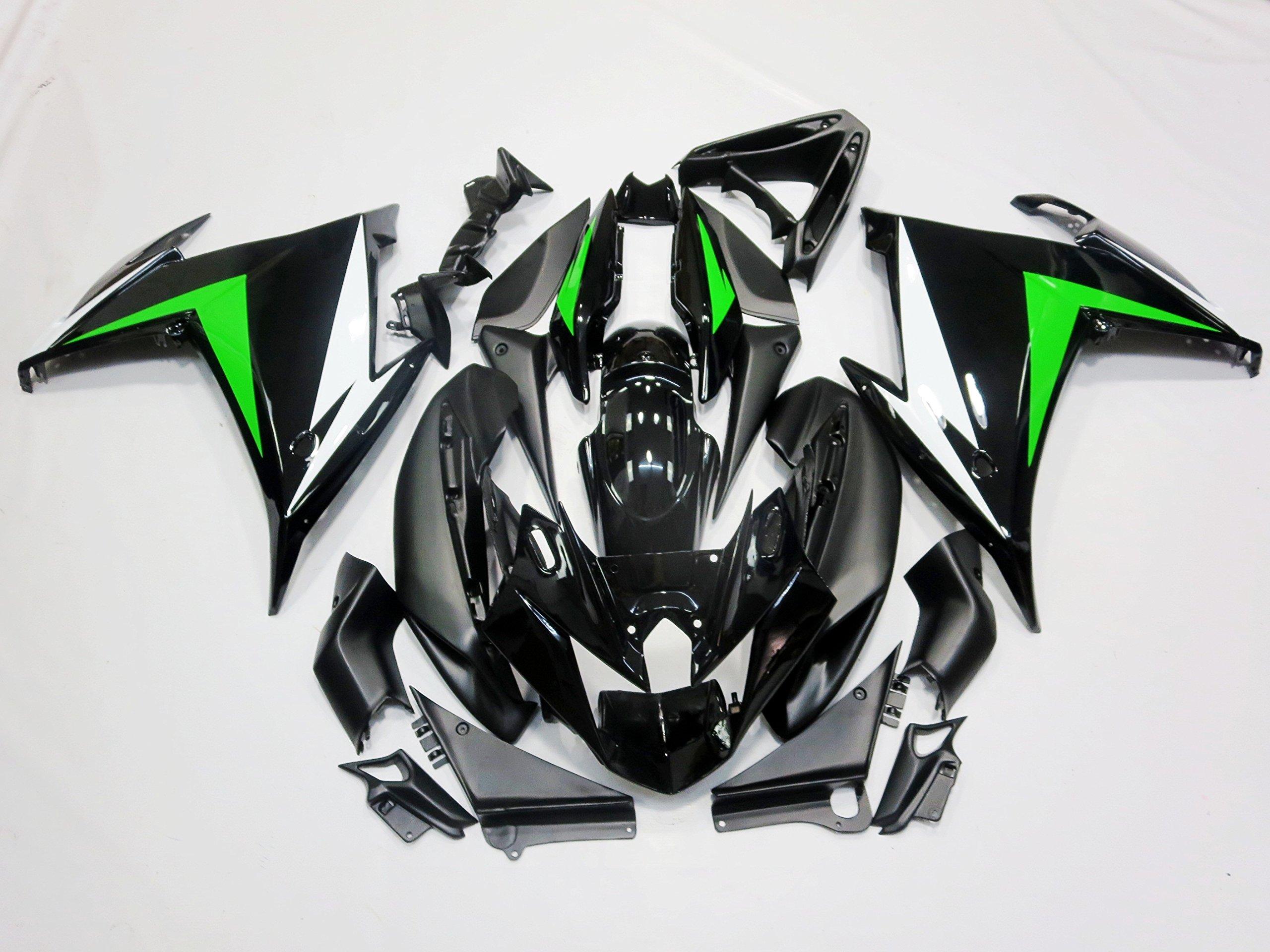 Damiya Motorcycle Fairings for Yamaha FZ6R 2009-2010 Black