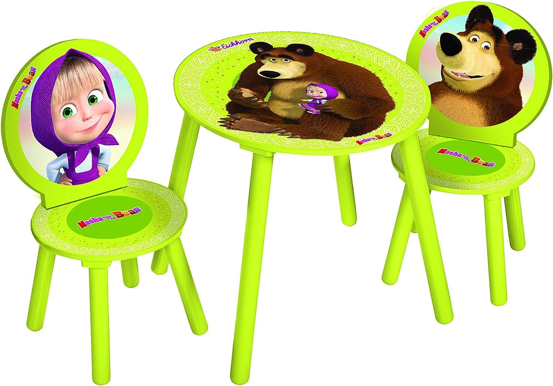 Eichhorn 109304099 Mascha und der Bär Tisch und Stühle bis