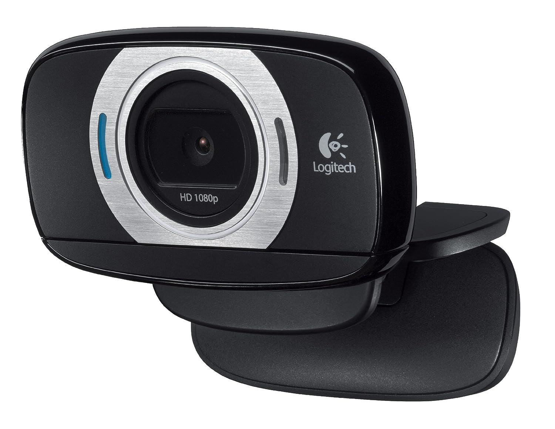 Logitech HD Laptop Webcam C615 with Fold-and-Go Design, 360-Degree Swivel, 1080p Camera 960-000733