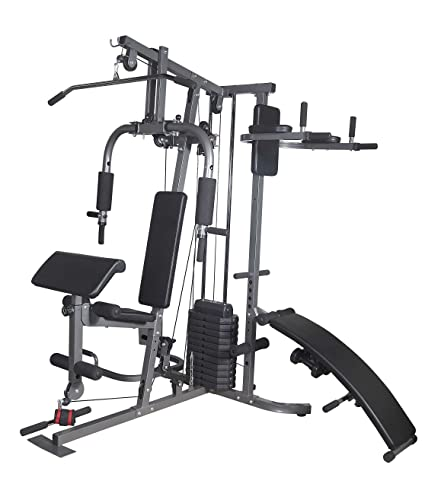 healthfit multi home gym amazon in sports fitness outdoors rh amazon in multi home gym wire multi home gym price