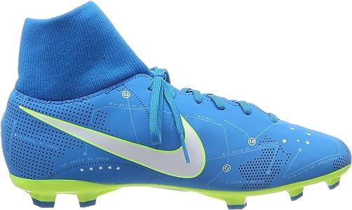 95eb61aea Jr Mercurial Vctry 6 DF NJR FG Soccer Shoes (3.5 M US, Blue  Orbit/White-Blue Orbit). Nike Jr Mercurial Vctry 6 DF NJR FG Soccer Shoes (3.5  M US ...