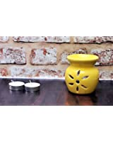 FnP Handcrafted Aroma Diffuser / Oil Burner with Tealight Candle