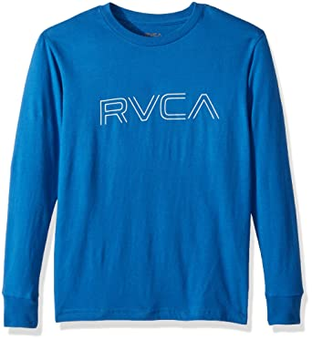 2150126a Amazon.com: RVCA Boys' Big Pinner Long Sleeve Tee: Clothing