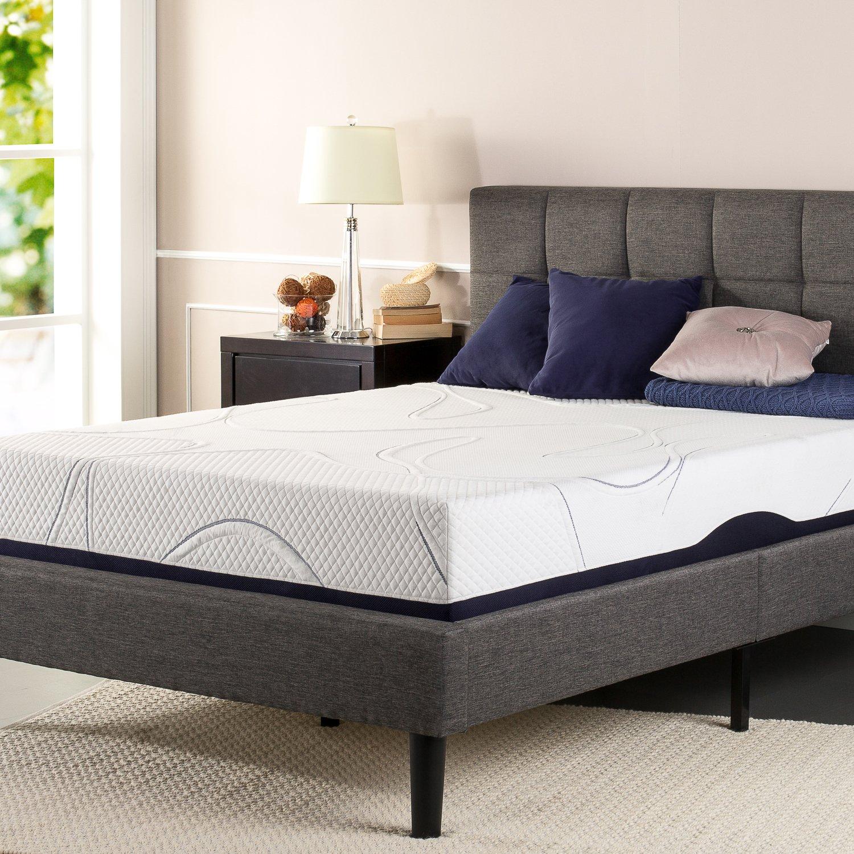 Amazon.com: Sleep Master 10 Inch Gel Memory Foam Mattress, King: Kitchen U0026  Dining