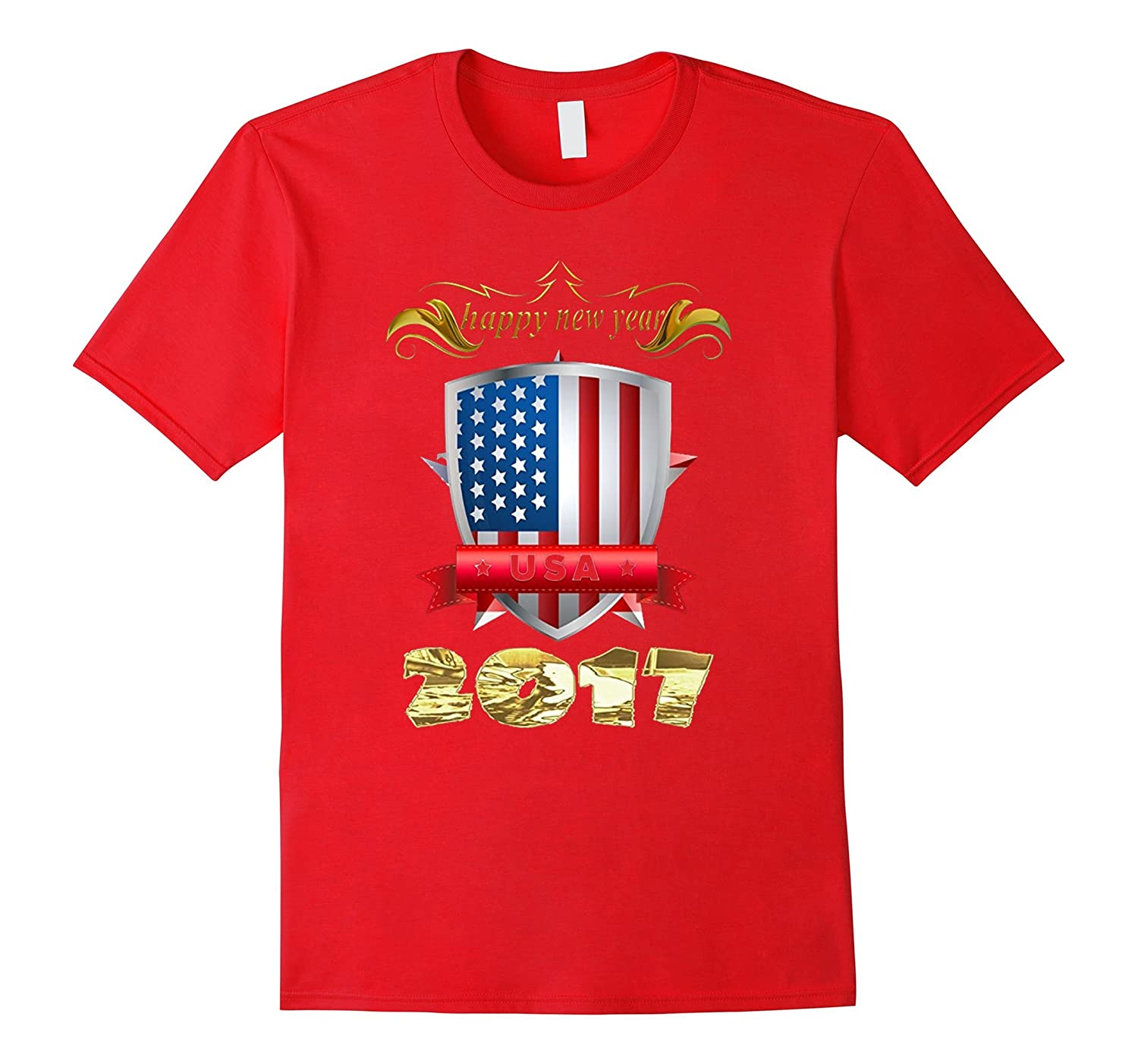 2017 Happy New Year T-Shirt-Art
