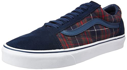 Image Unavailable. Image not available for. Colour  Vans Unisex Old Skool  Plaid Dress Blues Sneakers - 9 UK India (43 EU 62abc374a