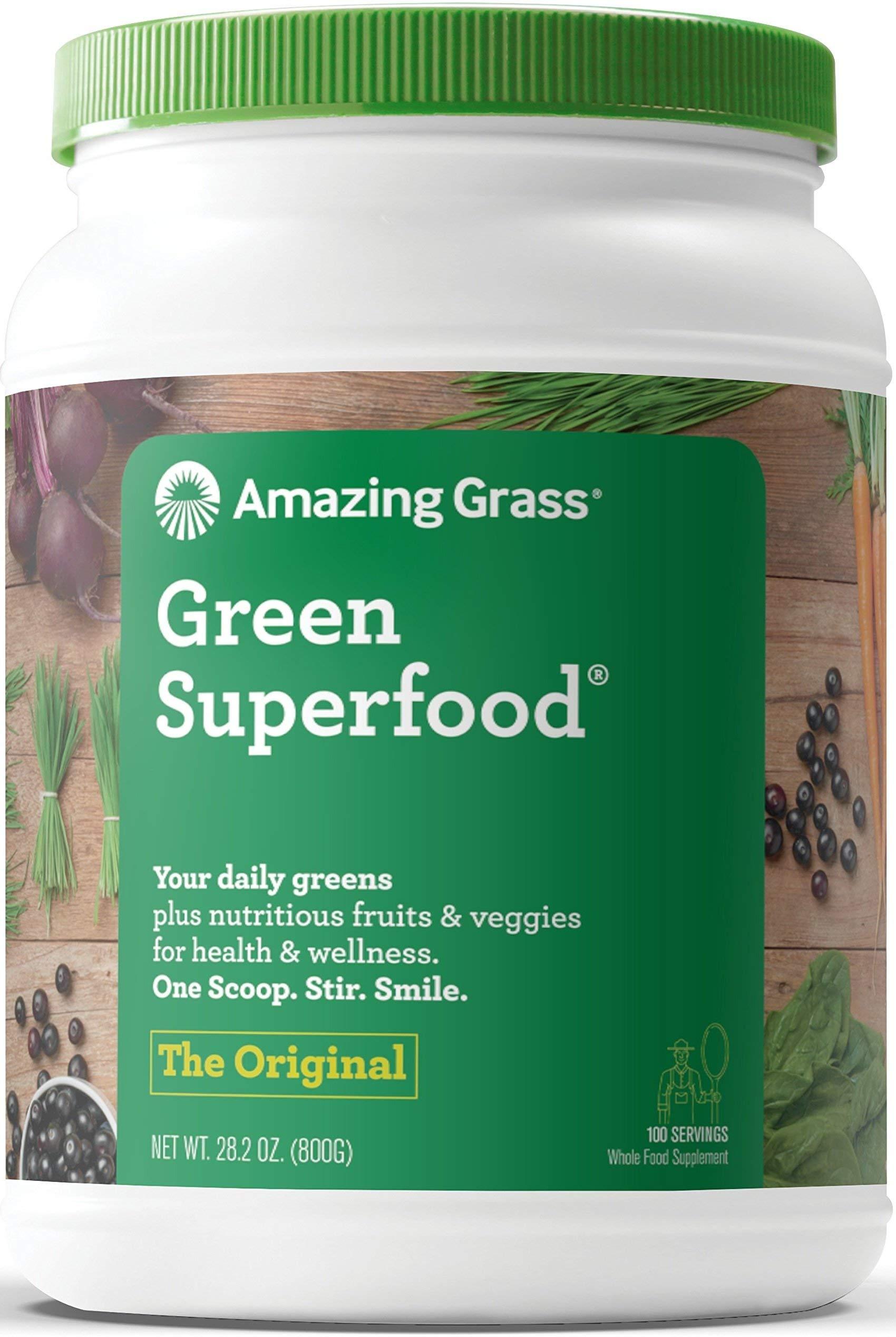 Amazing Grass Original Green SuperFood - 100 Servings-28 oz