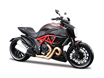 Maisto 2049733 1:12 Scale Ducati Diavel Carbon Model Motorbike ...