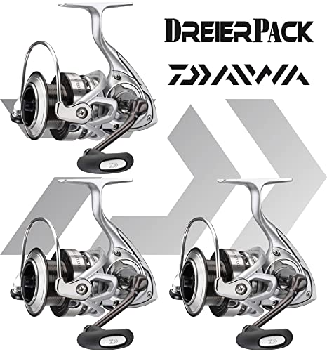 3 piezas Daiwa exceler E a/ha - Carrete de pesca con freno frontal ...